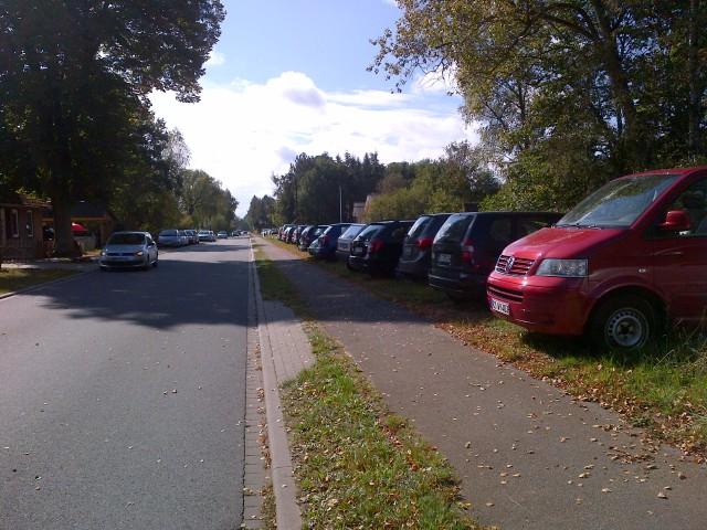 So viele Autos …