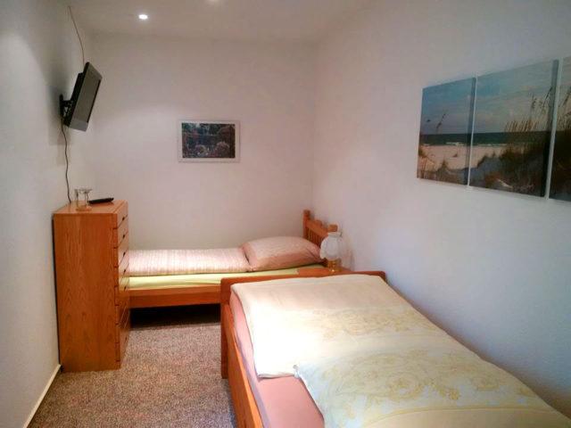 Ferienwohnung Langenlehsten Schlafzimmer