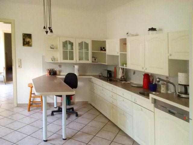 Ferienwohnung Langenlehsten Küche