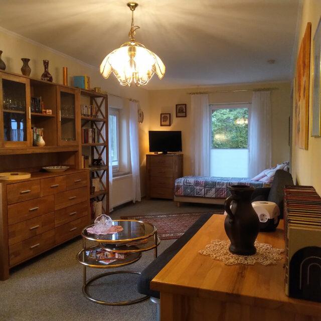 Ferienwohnung Langenlehsten Wohnzimmer