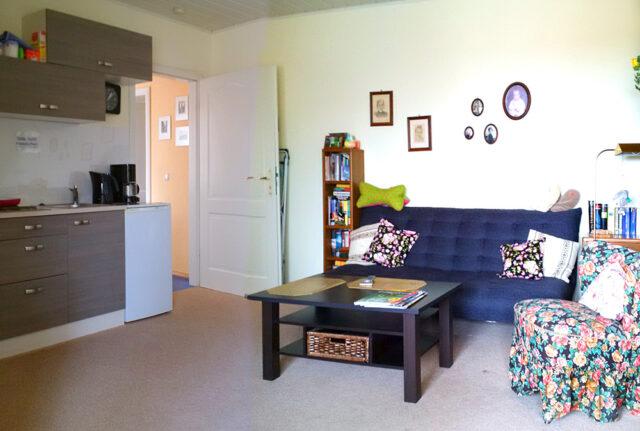 Gästezimmer Langenlehsten Wohnzimmer